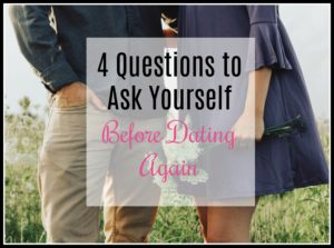 "Am I even READY to begin dating again?"" Have you asked yourself that question?"