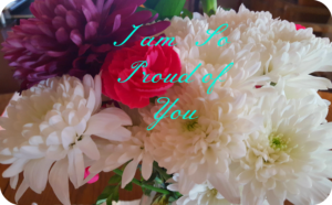 flowers letter of encouragement