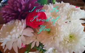 flowers letter of encouragement