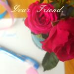Dear Friend: A Letter of Encouragement
