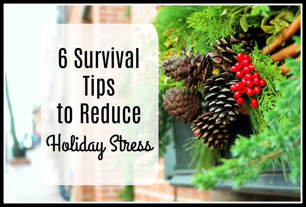 6 Survival Tips to Reduce Holiday Stress