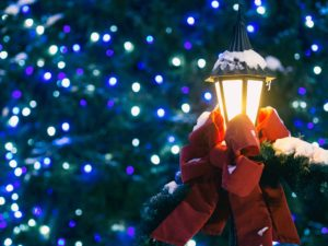 6 Survival Tips to Reduce Holiday Stress lights