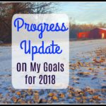Progress Update on My Goals for 2018