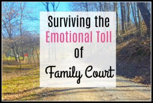 Surviving the Emotional Toll of Family Court