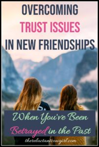 overcoming Trust Issues in Frienships