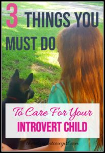 3 Essential Needs of an Introvert Child