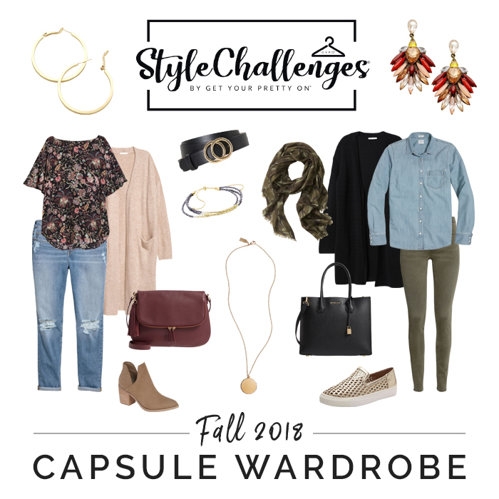CLICK to Learn about Creating a Fall Capsule! Challenge Starts Sept. 24th!