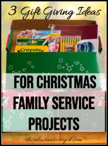 3 Simple Christmas Service Projects for Families