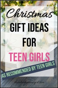 Christmas Gift Ideas for Teen Girls. Looking for some great gift suggestions for teen girls that they will actually love? Here is an amazing list created with their input of tons of gift ideas for teen girls.