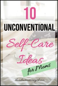 10 Unconventional Self-Care Ideas for Moms! Self-care is about caring for your body but also your mental and emotional well-being. Here are some great self-care tips on doing those little routines that improve our mental health and well-being.
