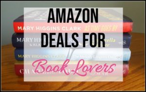 amazon deals for book lovers