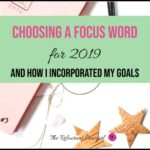 Choosing a Focus Word for 2019
