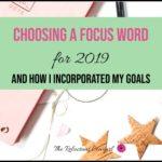 Choosing a Focus Word for 2019