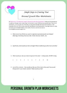 8 Steps Smart Moms Know on Creating a Personal Growth Plan