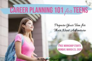 career planning for teens 5 day workshop