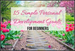 15 Simple Development Goals for beginners