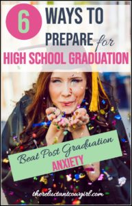 Coping with High School Graduation Anxiety