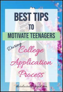 Tricke to Motivate Teens to Apply to College and Scholarships