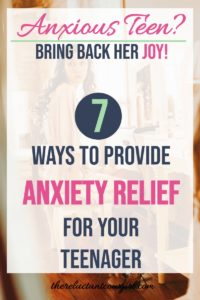 Helping Your Teenager Cope with Teen Anxiety