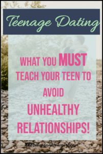 Healthy vs. Unhealthy Teenage Relationships