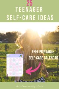 self-care activities for youth free printable self-care worksheets