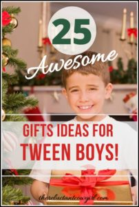 best gifts for tween boy