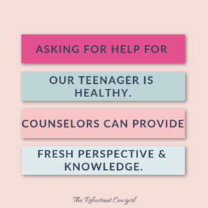 when to find counseling for troubled teens