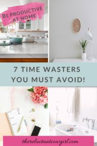 common time wasters at home