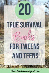 20 true survival stories for tweens and teens