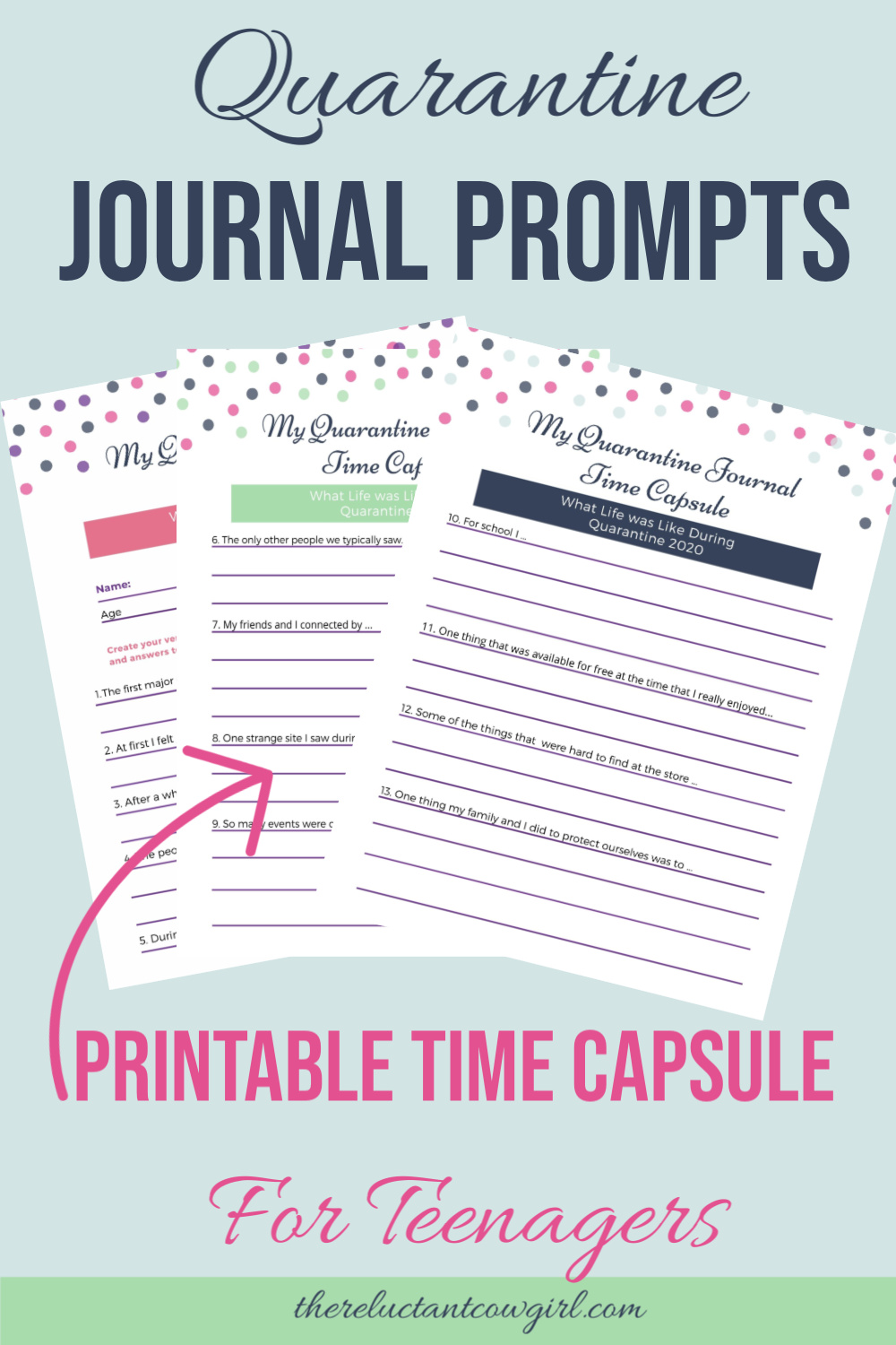 Create a Time Capsule with Your Teens!!