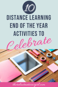 distance learning end of the year celebration ideas