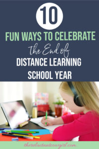 distance learning end of year celebration ideas