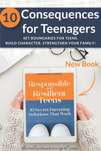 consequences for teens that build responsibility
